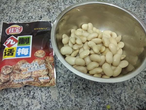 话梅白芸豆的家常做法