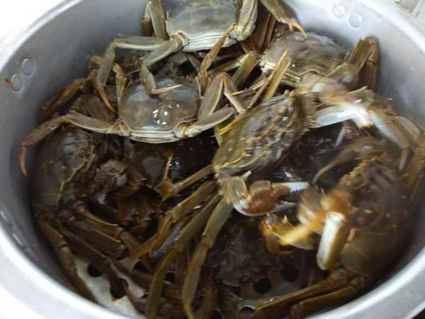 蒸河蟹的做法图解