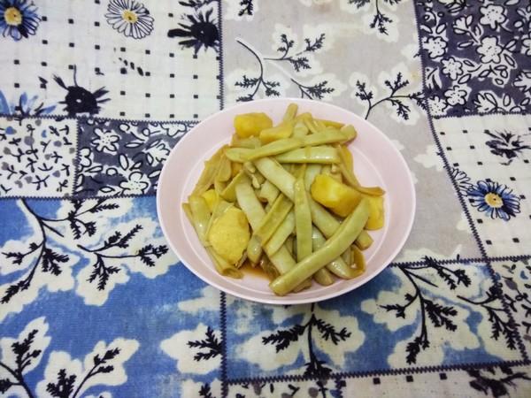 白芸豆炖土豆怎样煸
