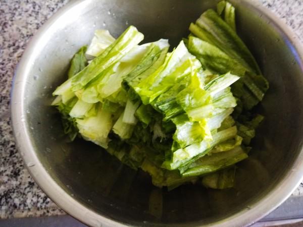蒜炒油麦菜的做法大全