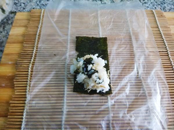 海苔肉松饭卷的家常做法