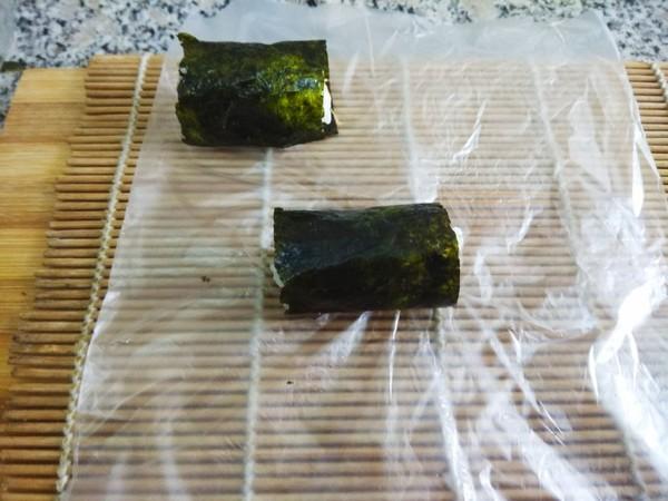 海苔肉松饭卷的简单做法
