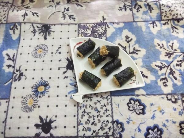 海苔肉松饭卷怎么煮
