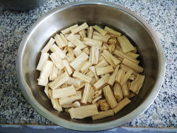 拌腐竹的做法图解