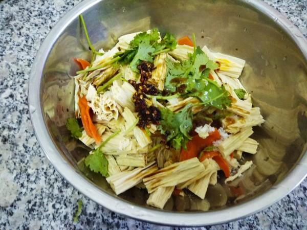 拌腐竹怎么吃