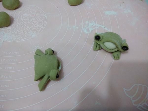 小青蛙馒头的家常做法