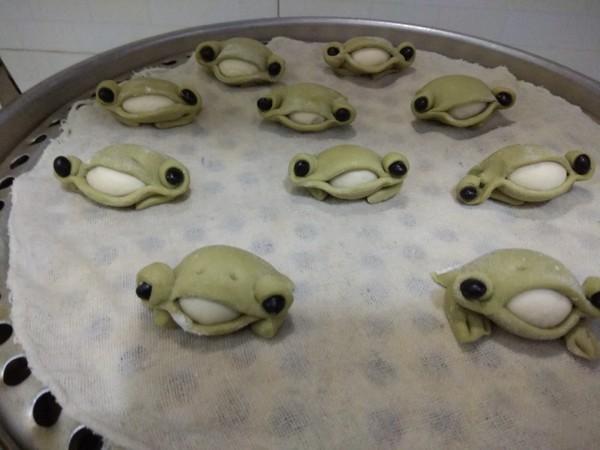 小青蛙馒头的简单做法