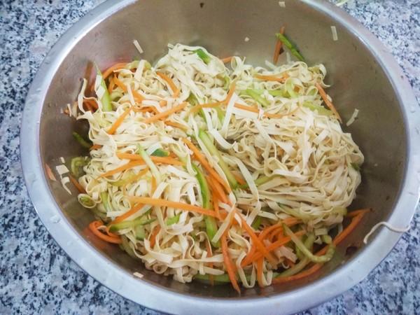 拌黄瓜干豆腐怎么吃