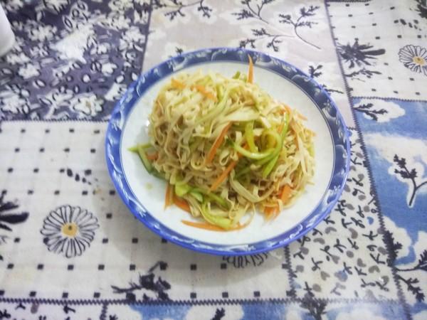 拌黄瓜干豆腐怎么做