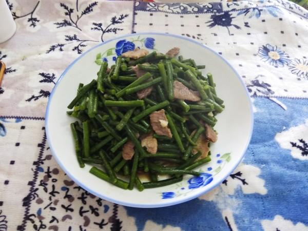 肉炒豇豆怎么吃