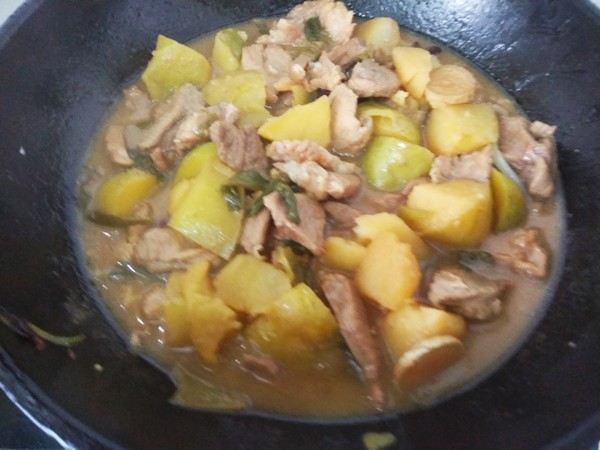 猪肉炖土豆的简单做法