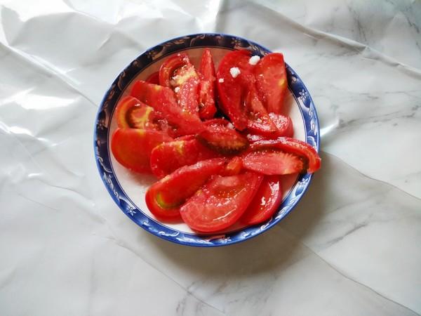白糖拌西红柿的步骤