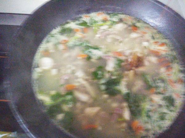 羊杂汤怎么吃