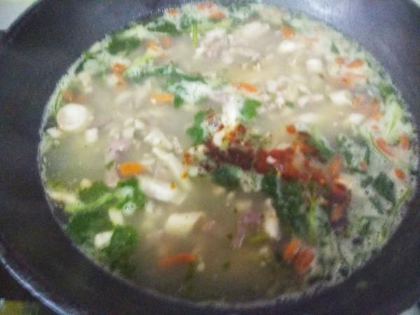 羊杂汤怎么煮