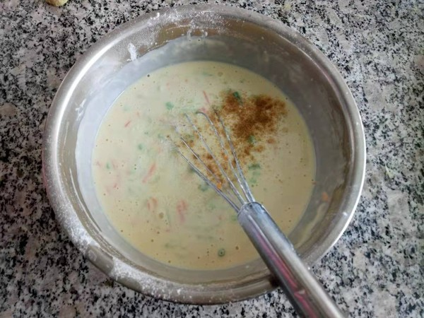 营养蔬菜饼的家常做法