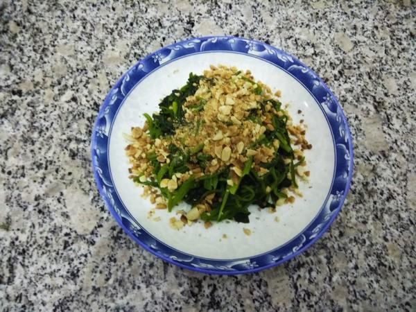 陈醋拌菠菜的简单做法