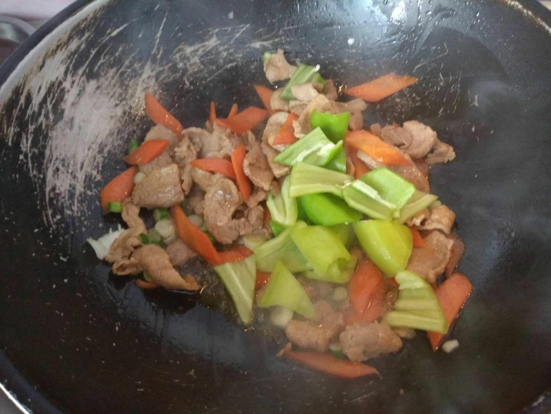 肉炒尖椒怎么吃