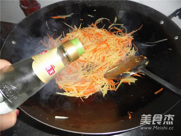 醋溜土豆丝怎么炒