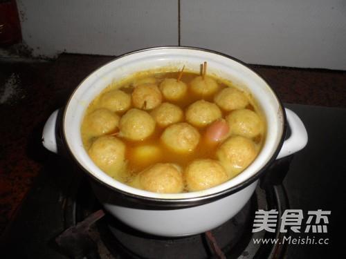 咖喱鱼蛋怎么炒