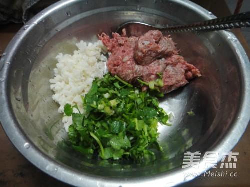 香菜牛肉水饺的做法图解