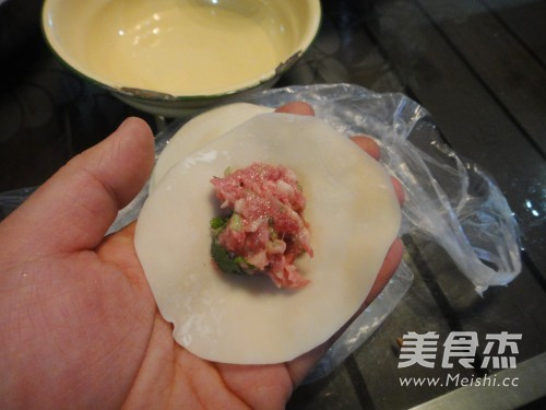 香菜牛肉水饺的简单做法