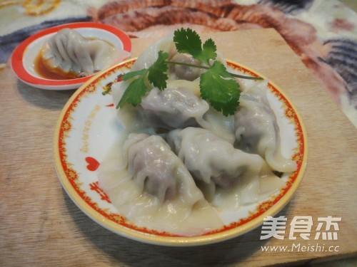 香菜牛肉水饺怎么炒