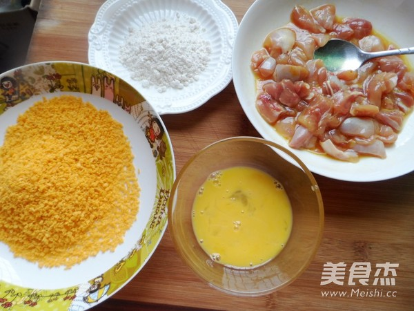 香酥鸡米花怎么吃
