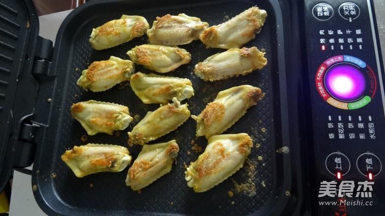 烤盐焗鸡翅怎么做