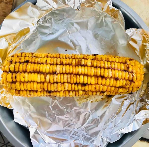 烤玉米的家常做法