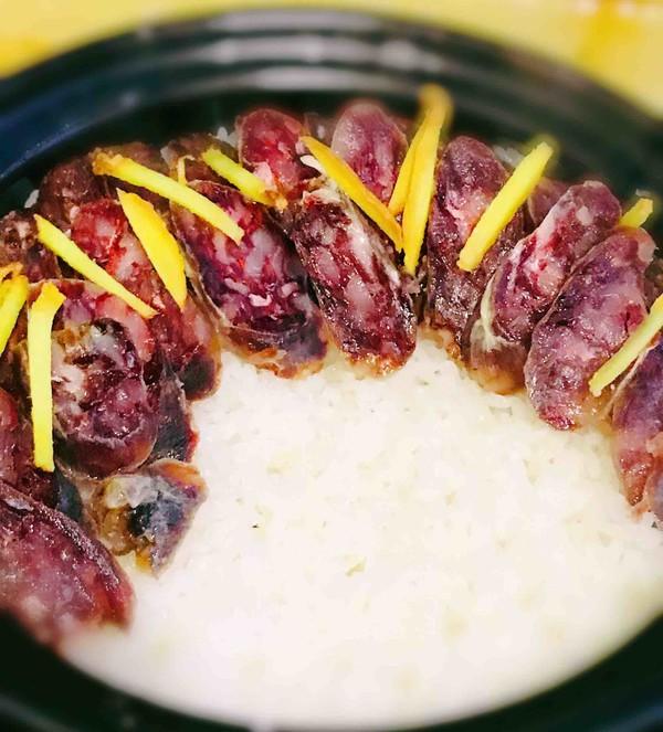 广式香肠煲仔饭怎样做