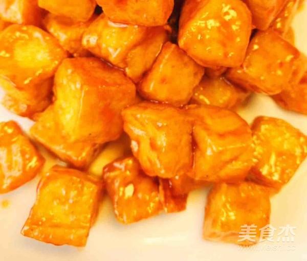 糖醋脆皮豆腐.的简单做法
