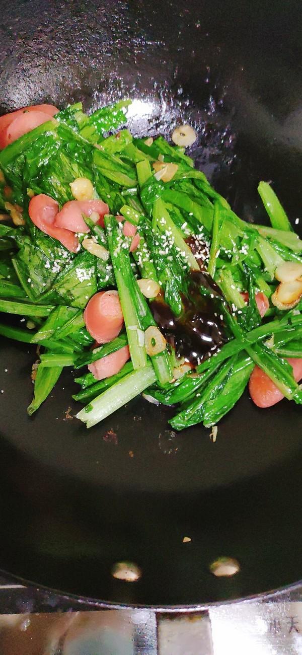 热狗油麦菜怎么吃