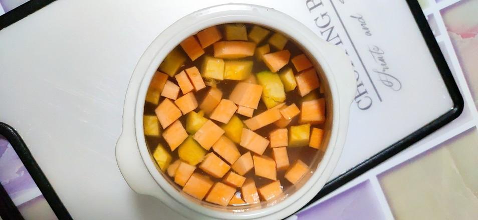 双瓜粥的家常做法