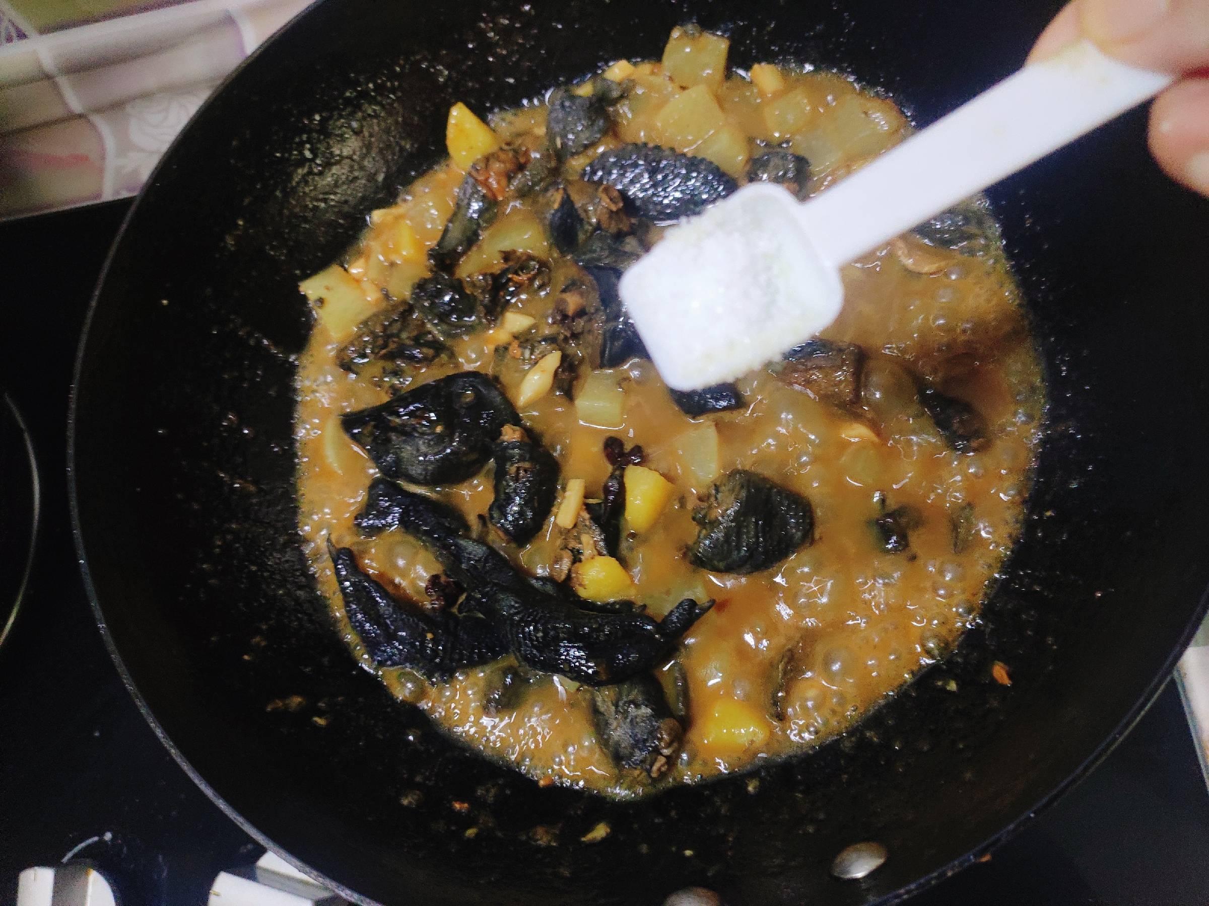 咖喱土豆萝卜炖乌鸡怎么炖