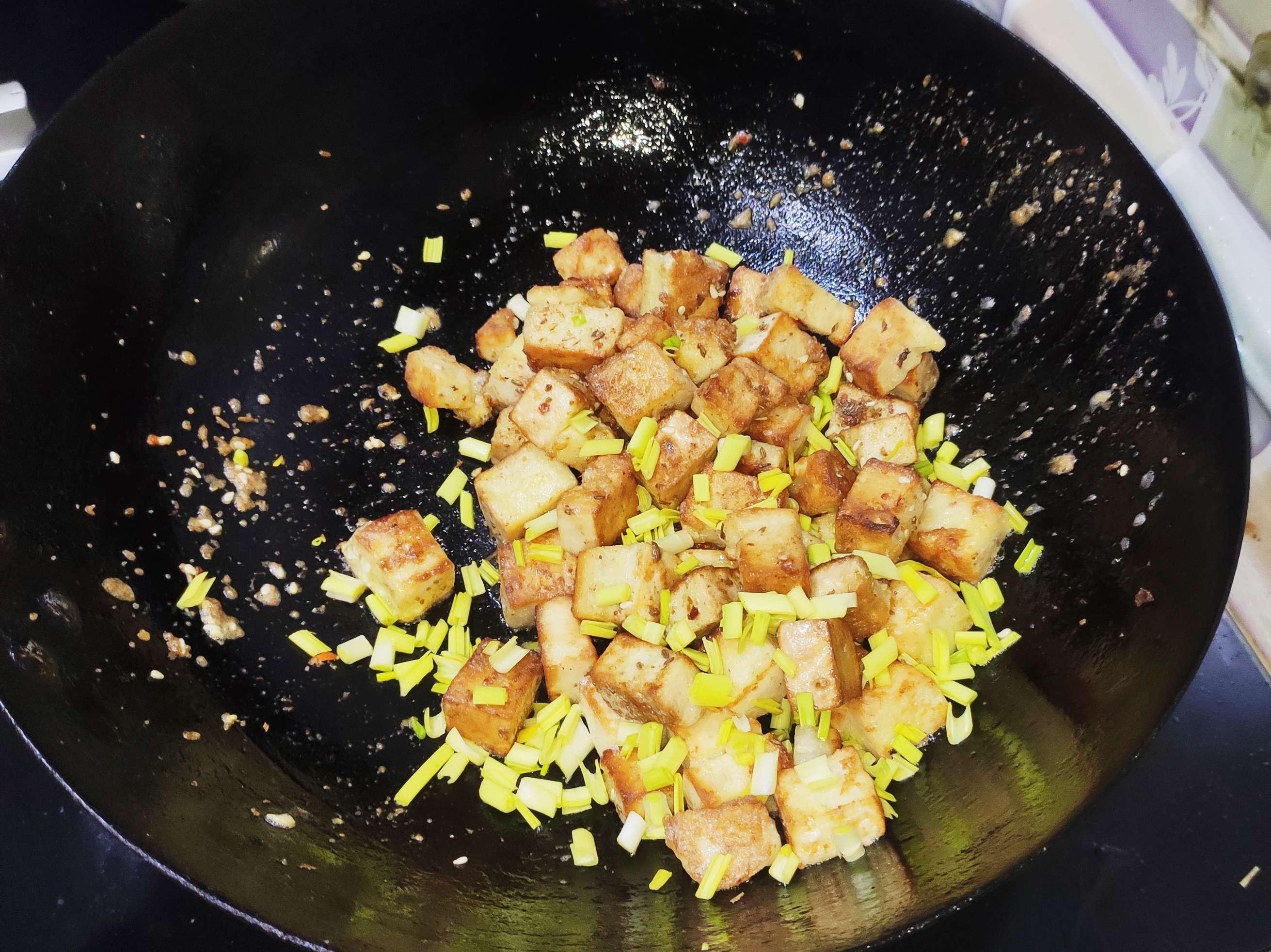 一分钟做出好吃的炒饼块怎么煮