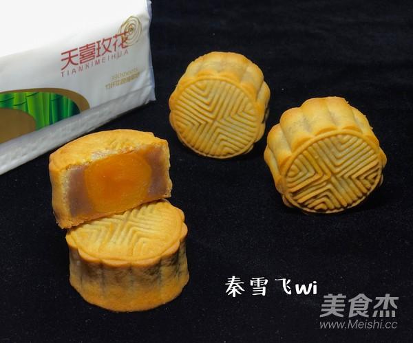 莲蓉蛋黄广式月饼的做法大全