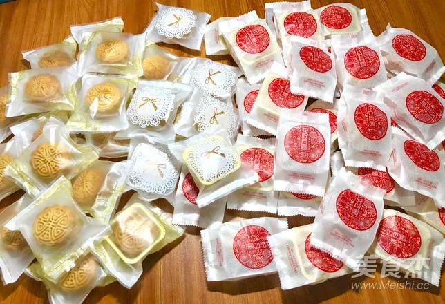 风炉批量广式月饼的制作方法