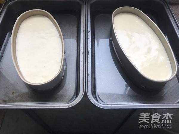轻乳酪蛋糕的制作