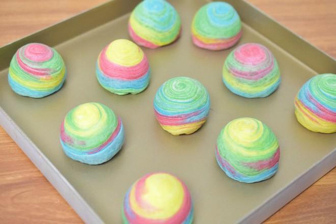 螺旋彩虹蛋黄酥的做法大全