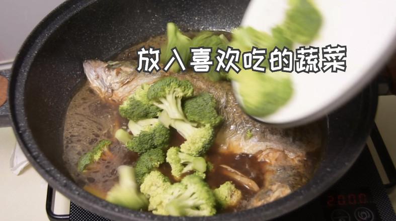 垮炖鲈鱼怎么煮