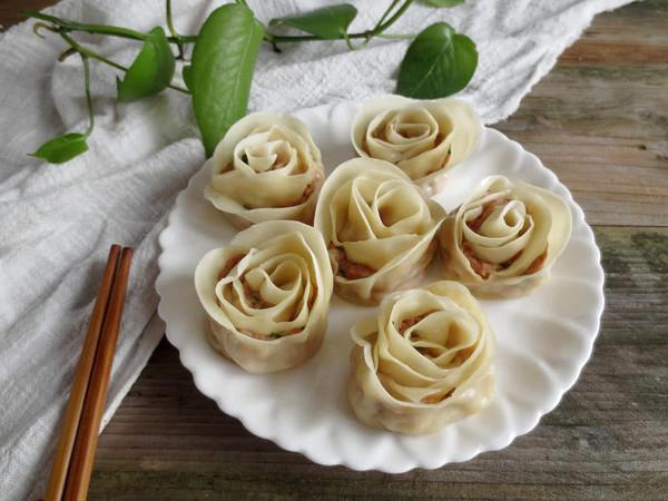 玫瑰花饺子怎样煸