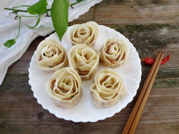 玫瑰花饺子怎样做