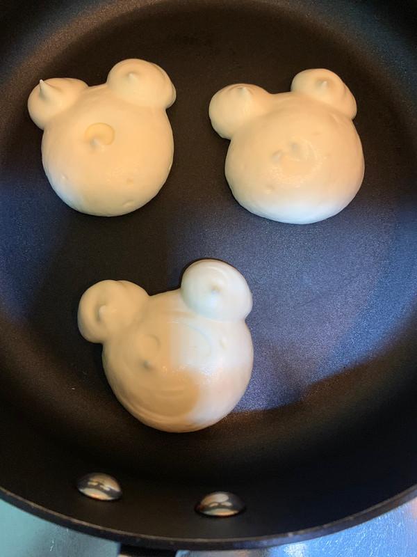 小熊舒芙蕾松饼怎么吃