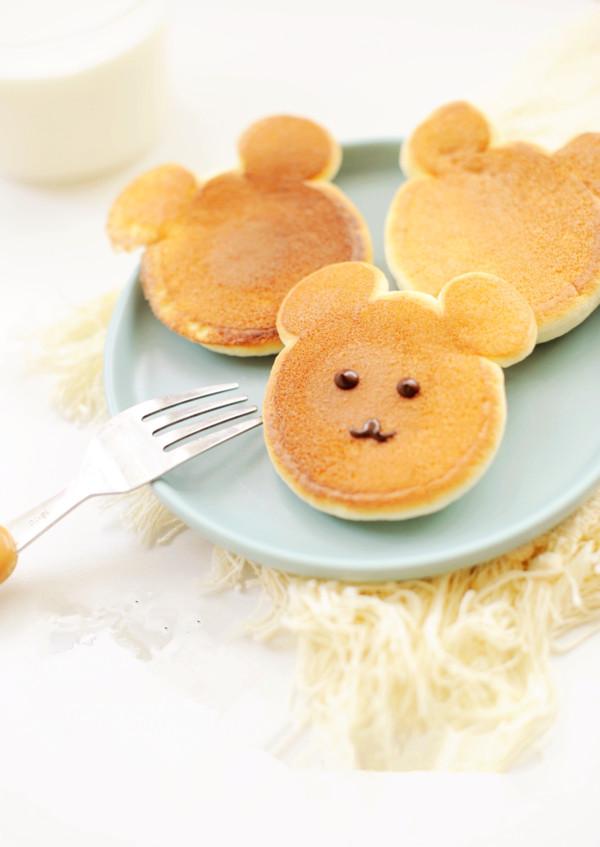 小熊舒芙蕾松饼怎么做