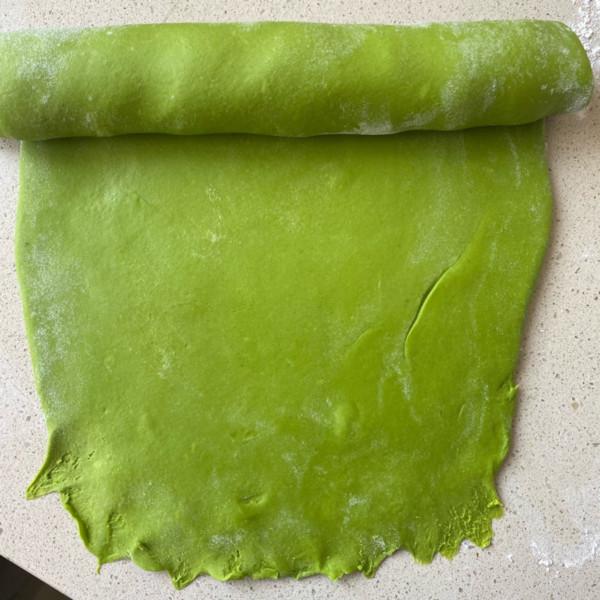 菠菜馒头的简单做法