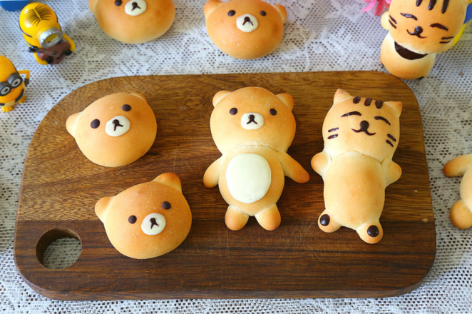 小熊面包的制作大全