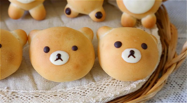 小熊面包的做法大全