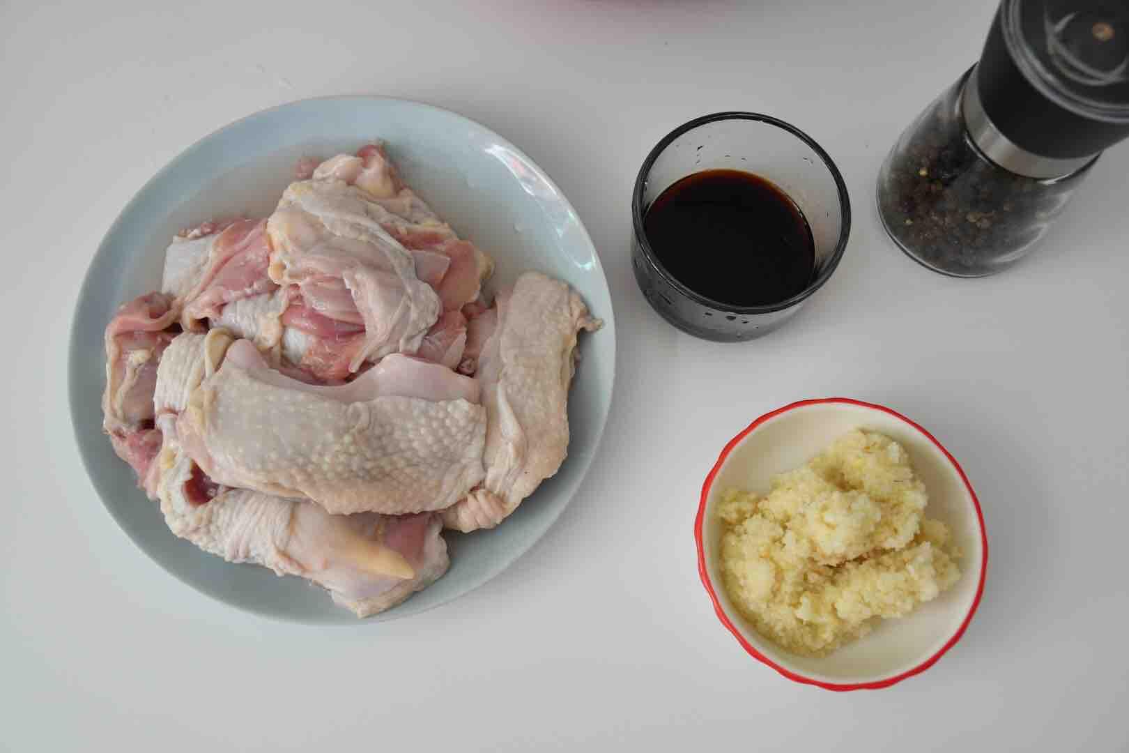 蒜香炸鸡块的做法图解