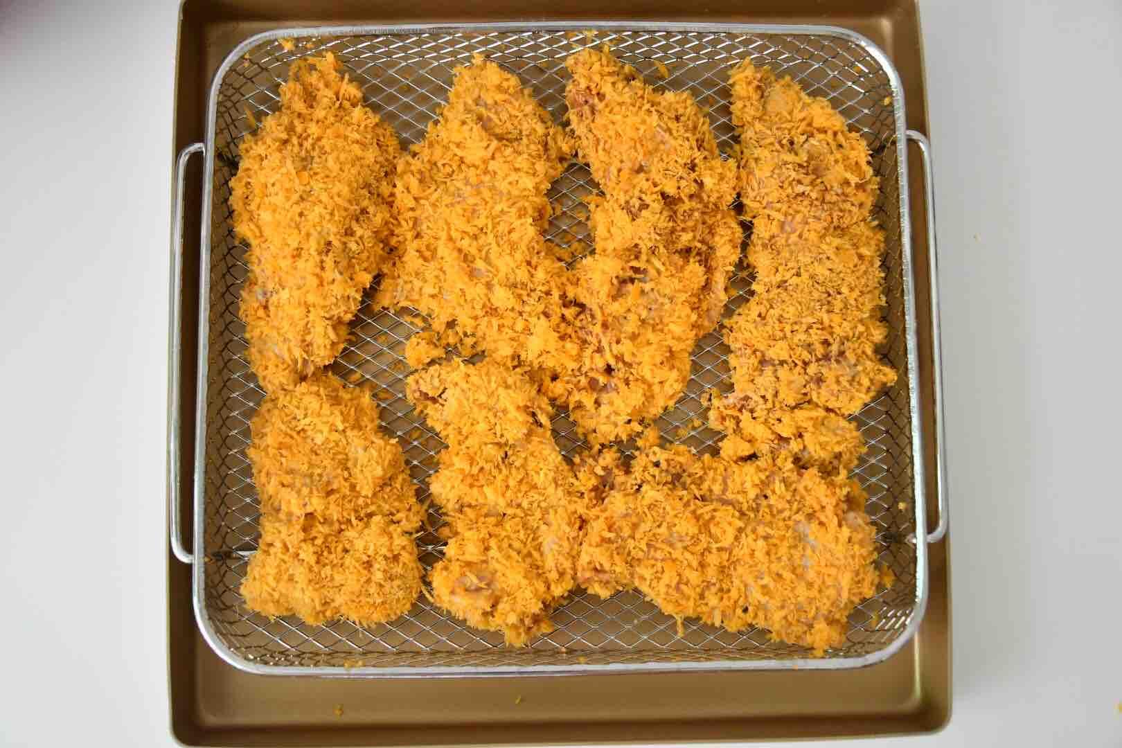 蒜香炸鸡块怎么炒