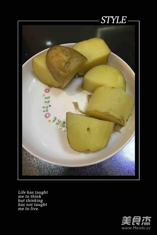 土豆沙律的步骤